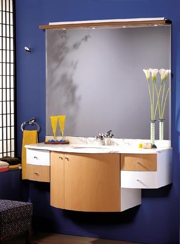 Mueble Baño Azul 3id6 Muebles Para Baà Os En Azul Blanco Y Haya Decoracià N De Baà Os
