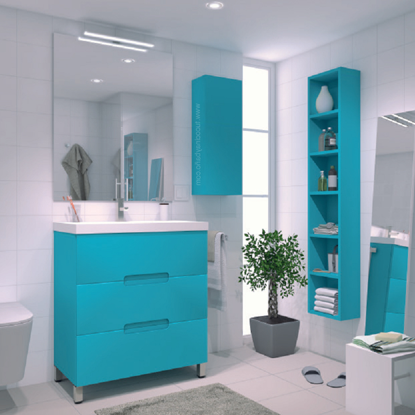 Mueble Baño Azul O2d5 Mueble Ovalix Laca Uà Ero Tu Cocina Y Baà O