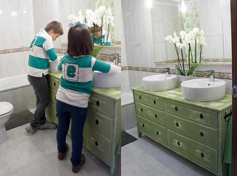 Mueble Baño Bajo Lavabo Drdp Ikea Hacks De Cà Moda A Lavabo Doble Para El Baà O Decorar En