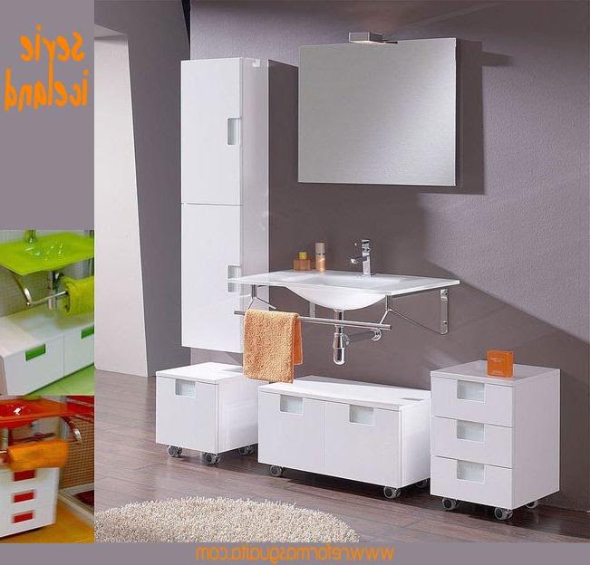 Mueble Baño Con Lavabo 3id6 Serie Iceland De Muebles Auxiliares Reformas Guaita