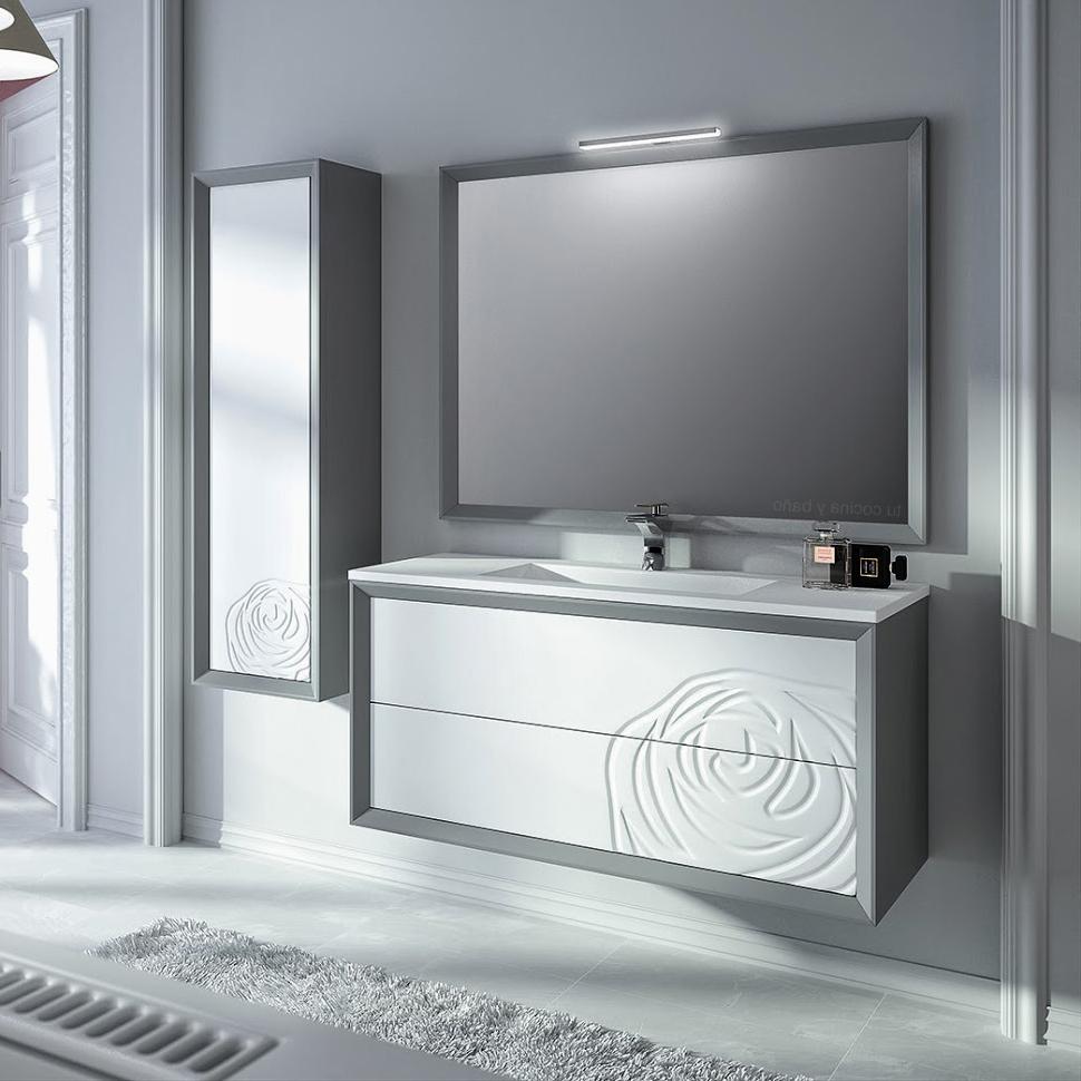 Mueble Baño Con Lavabo 87dx Mueble De Baà O Rosal 2 Colores Tu Cocina Y Baà O