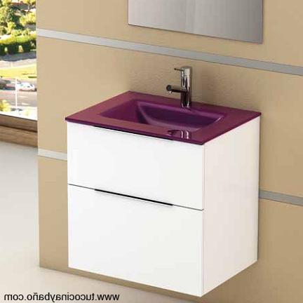 Mueble Baño Con Lavabo T8dj Meteoro F40 Lavabo Cristal Tu Cocina Y Baà O