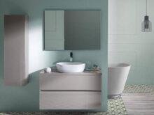 Mueble Baño Con Lavabo X8d1 Conjunto Mueble De Baà O De Sanchis Lavabo sobre Encimera Espejo Glass Line 1 Varias Medidas Frentes De Cristal