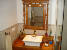 Mueble Baño Lavabo Pie