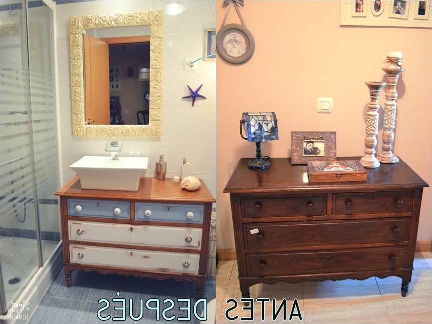 Mueble Baño Vintage E6d5 Mueble Baà O Madera El Tuneo De Mi Ba O O Instalar Un Lavabo En Una C