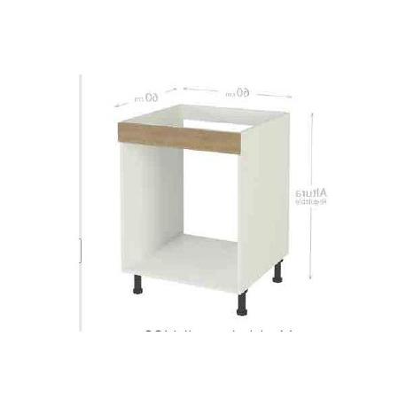 Mueble Bajo Cocina Budm Mueble Cocina Bajo De 60 Para Horno En Varios Colores Color