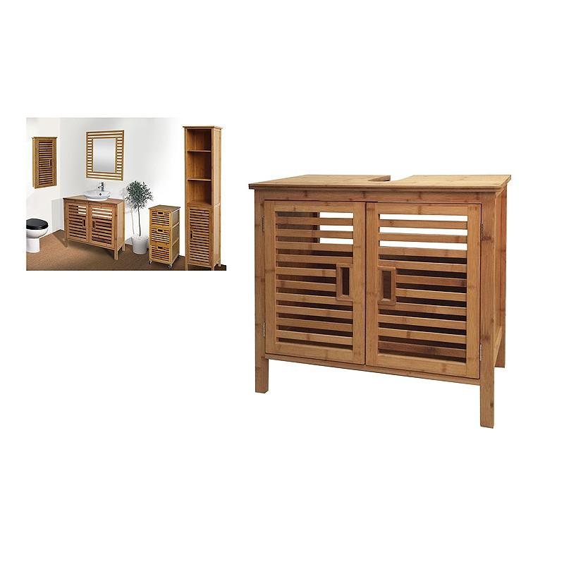 Mueble Bajo Lavabo Jxdu Mueble Bajo Lavabo En Bambu Sunrise Ideasdecasa