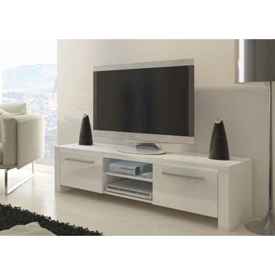 Mueble Bajo Tv H9d9 Mueble Bajo Tv Blanco 2 Puertas