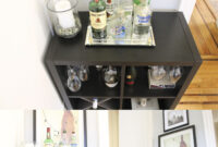Mueble Bar Ikea 3ldq Ikea Kallax Hack to A Bar Made by Keeparker House Future Projects