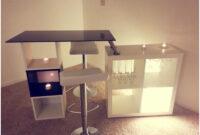 Mueble Bar Ikea Ftd8 Mueble Bar Ikea Agradable Un Mueble Bar Hecho Con Estanteras Expedit