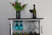Mueble Bar Ikea Qwdq Diy Two toned Wine Rack Ikeahack Weekend Craft