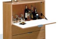 Mueble Bar Para Salon 9ddf Abitti Mueble Bar Auxiliar Con Barra Abatible Y Dos Cajones Color Cerezo Para Salones O Dormitorios Medida 81×84