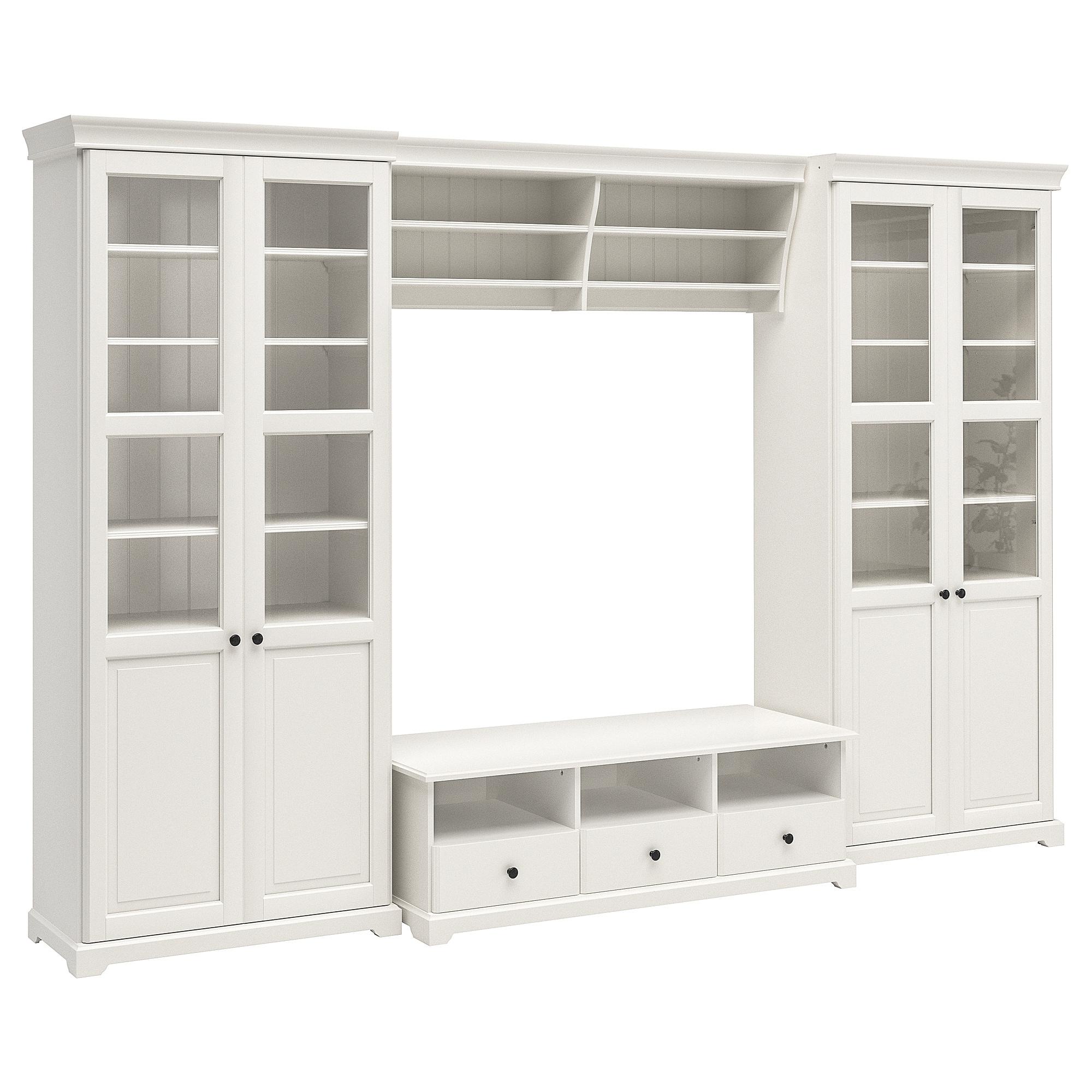 Mueble Blanco Ikea Nkde Liatorp Mueble Tv Con Almacenaje Blanco 332 X 214 Cm Ikea
