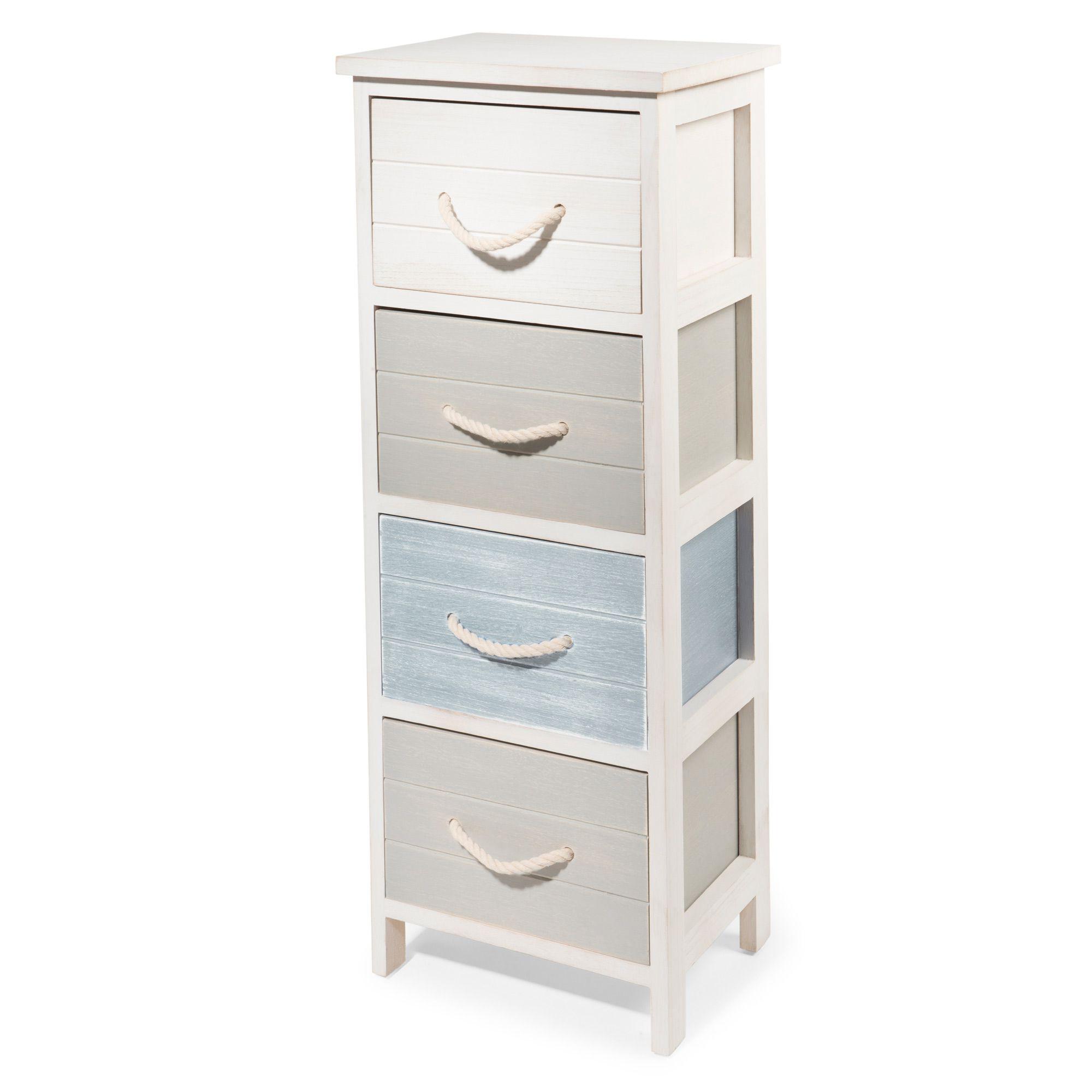 Mueble Cajones Gdd0 Mueble Pequeà O Con 4 Cajones De Paulonia Blanco Casa Pinterest