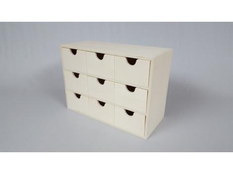 Mueble Cajones Whdr Caja Mueble 9 Cajones Ref1598 Mabaonline