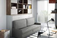 Mueble Cama Abatible Horizontal Y7du Cama Abatible Horizontal Con sofa Tmb Muebles Mi Hogar