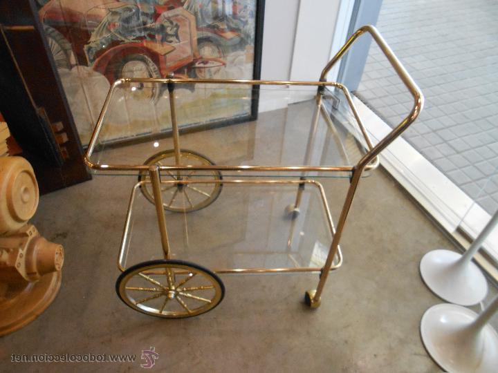 Mueble Camarera Wddj Vintage Mueble Camarera En Metal Y Cristal De L Prar Muebles