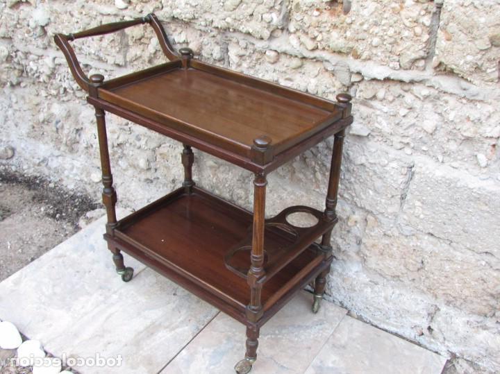 Mueble Camarera Y7du Mueble Camarera 79 X 75 X 38 Color Nogal Prar Muebles Vintage