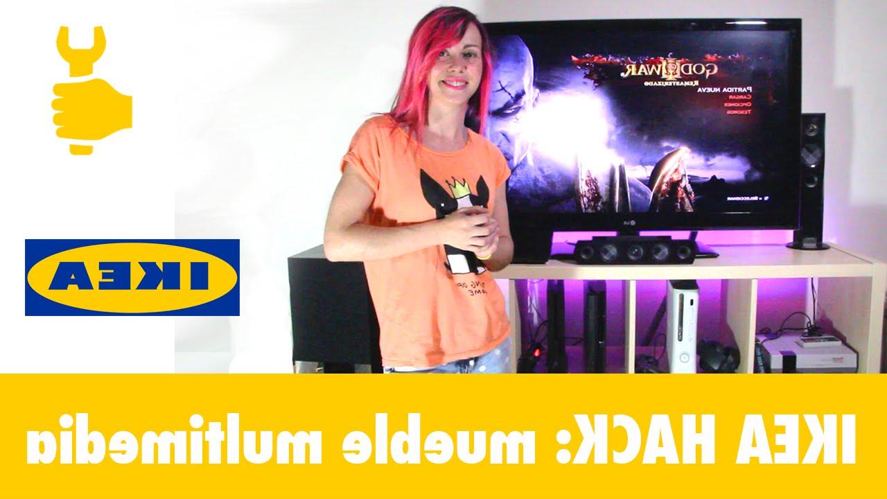 Mueble Consola Ikea Etdg Ikea Hack CÃ Mo Hacer Un Mueble Para Tv Y Consolas Diy En