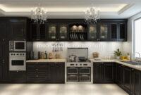 Mueble De Cocina E6d5 Muebles De Lujo De Aluminio Mueble De Cocina Puerta De Cristal Y