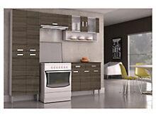 Mueble De Cocina X8d1 Kit Mueble Cocina 220x201x36 Cm Parana sodimac