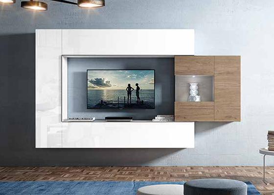 Mueble De Salon Moderno Q5df Mueble De Salà N Blanco Future