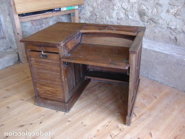 Mueble Escritorio 3id6 Mueble Escritorio Escamoteable Con Persiana Par Prar