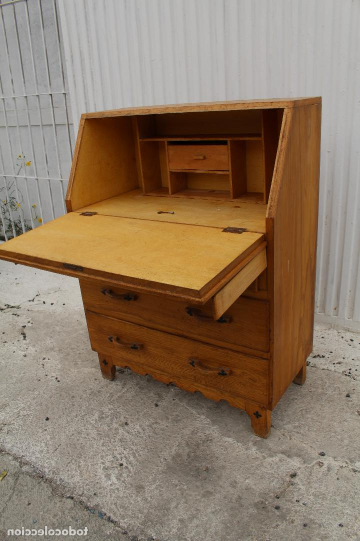 Mueble Escritorio H9d9 Mueble Escritorio En Madera De Roble Prar Escritorios Antiguos