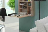 Mueble Escritorio Tldn Mueble Escritorio Colgado Color Cambrian Cambrian Tapa