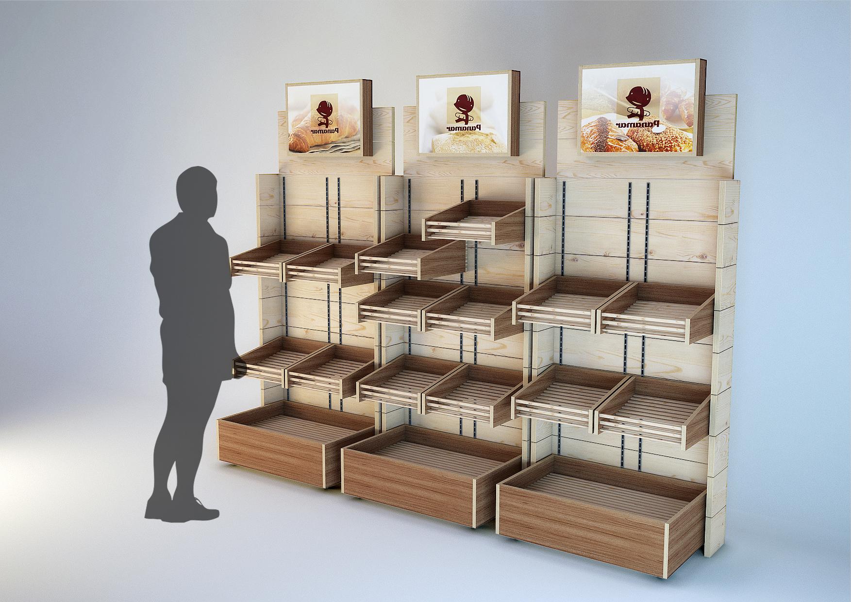 Mueble Expositor Etdg Mueble Expositor Para Lineal De Supermercado O Grandes Superficies