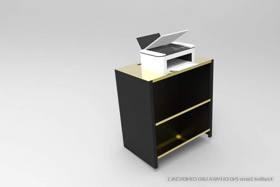 Mueble Impresora E9dx Mueble Para Impresora 3d Cad Model Library Grabcad