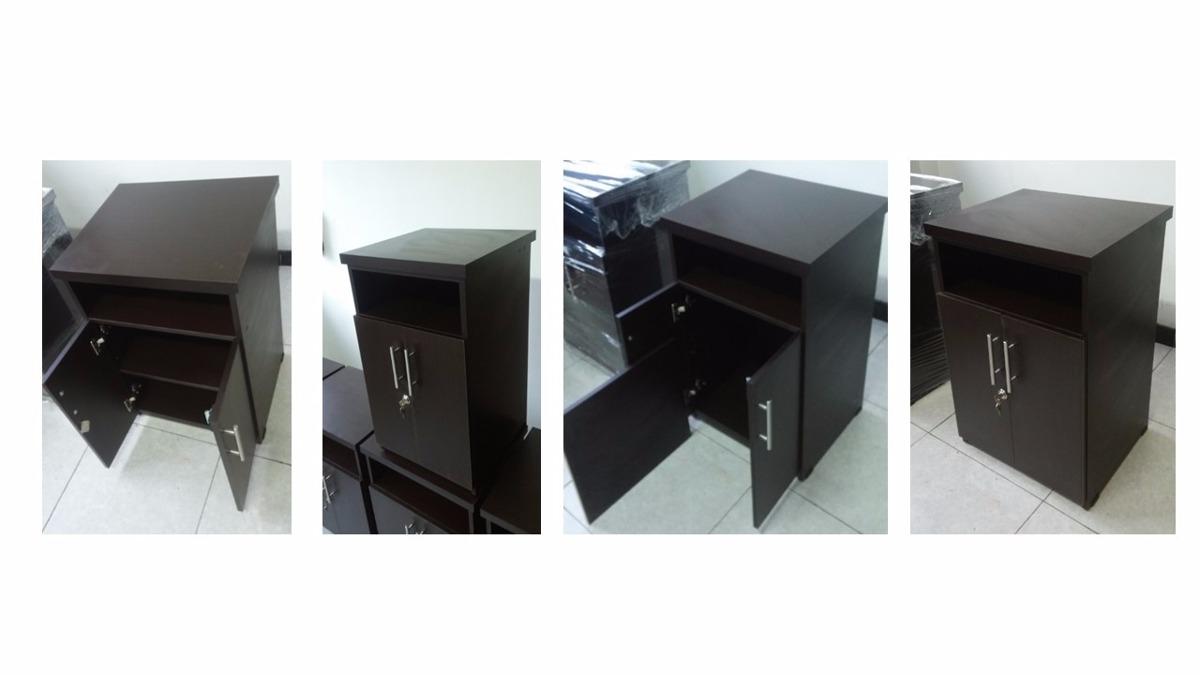 Mueble Impresora Qwdq Mesa Mueble Impresora Oficina Color Wengue 229 900 En Mercado Libre