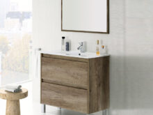 Mueble Lavabo E9dx Mueble De Baà O Barato Con Espejo Y Lavabo Color Roble Oscuro