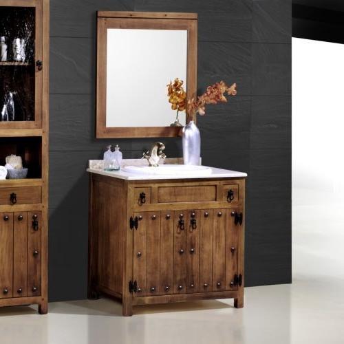 Mueble Lavabo Rustico Nkde G Mueble Lavabo 80cm Rústico Mod Olmedo Muebles El Chaflan