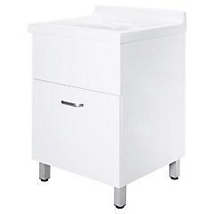 Mueble Lavadero Budm Kit Mueble Lavadero Mdf 59x55x85 Cm