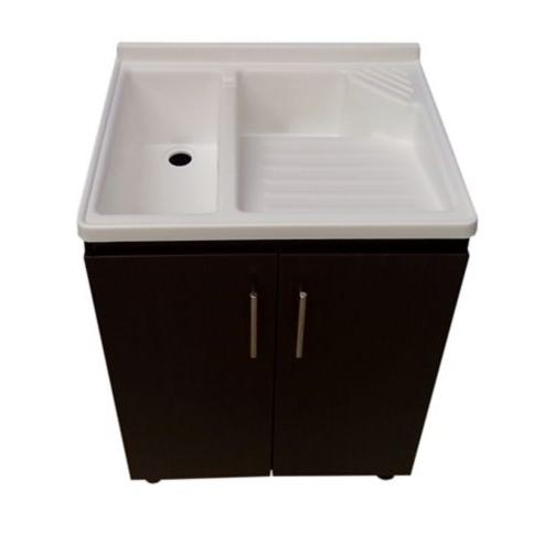 Mueble Lavadero Gdd0 Mueble Para Lavadero 80cm Alto X 60cm Ancho X 50cm Resistente A La Humedad Wengue