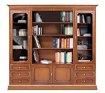 Mueble Libreria Salon 4pde Arteferretto Posicià N Mueble Librerà A Para Salà N En Madera