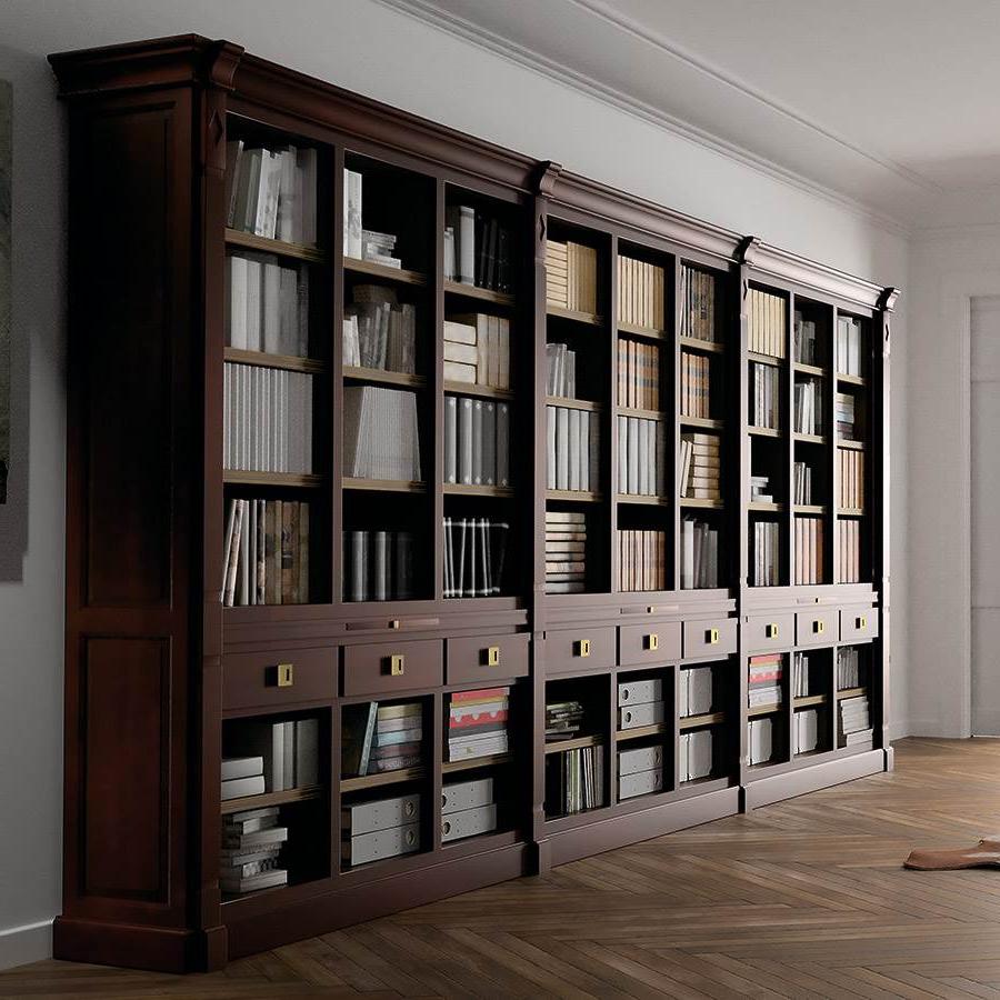 Mueble Libreria Salon Budm Classic La Ebanisteraa Muebles Saskia En Mueble Libreria El Corte