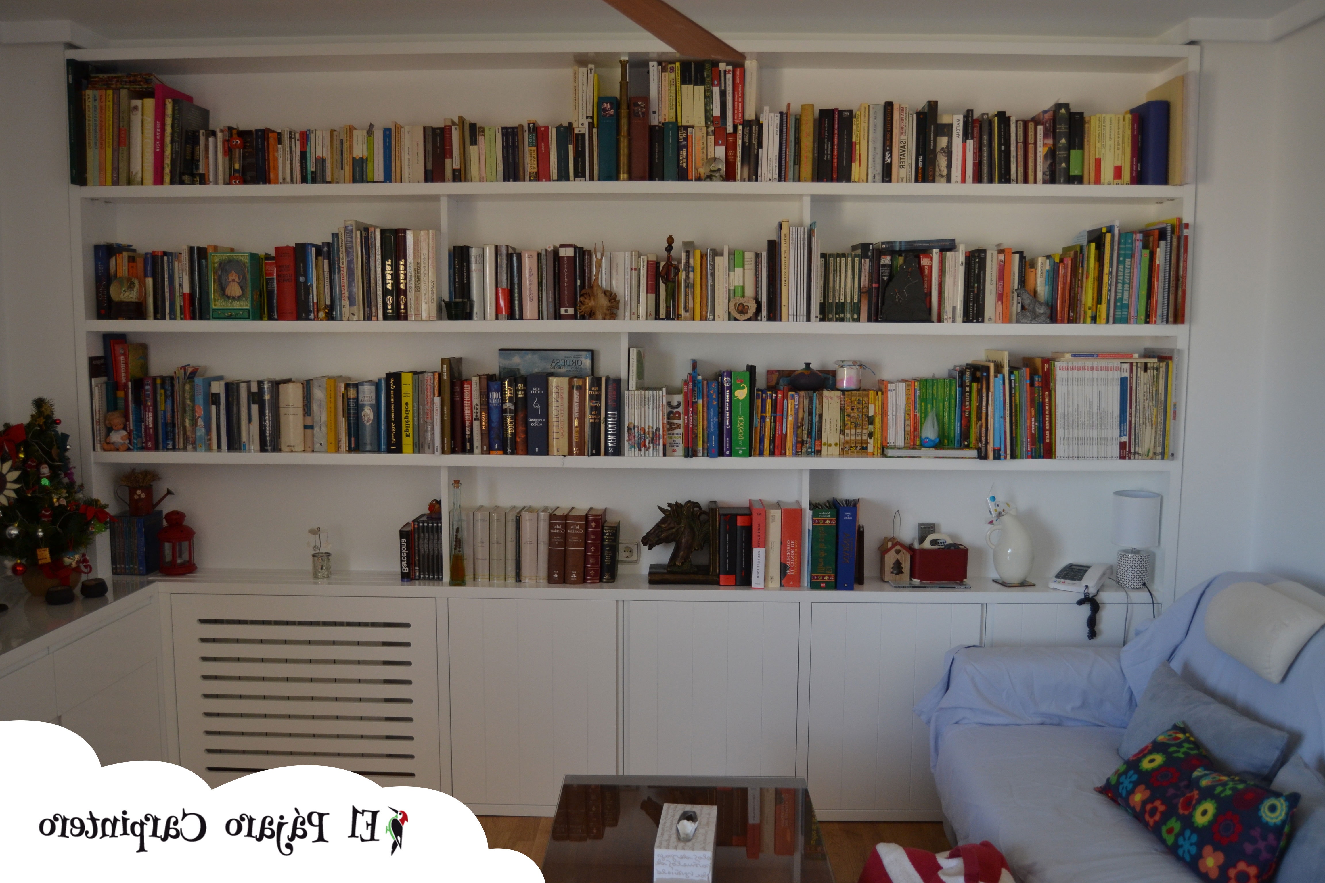 Mueble Libreria Salon Dwdk El Mueble Ideal Para Tu Salà N El Pà Jaro Carpintero