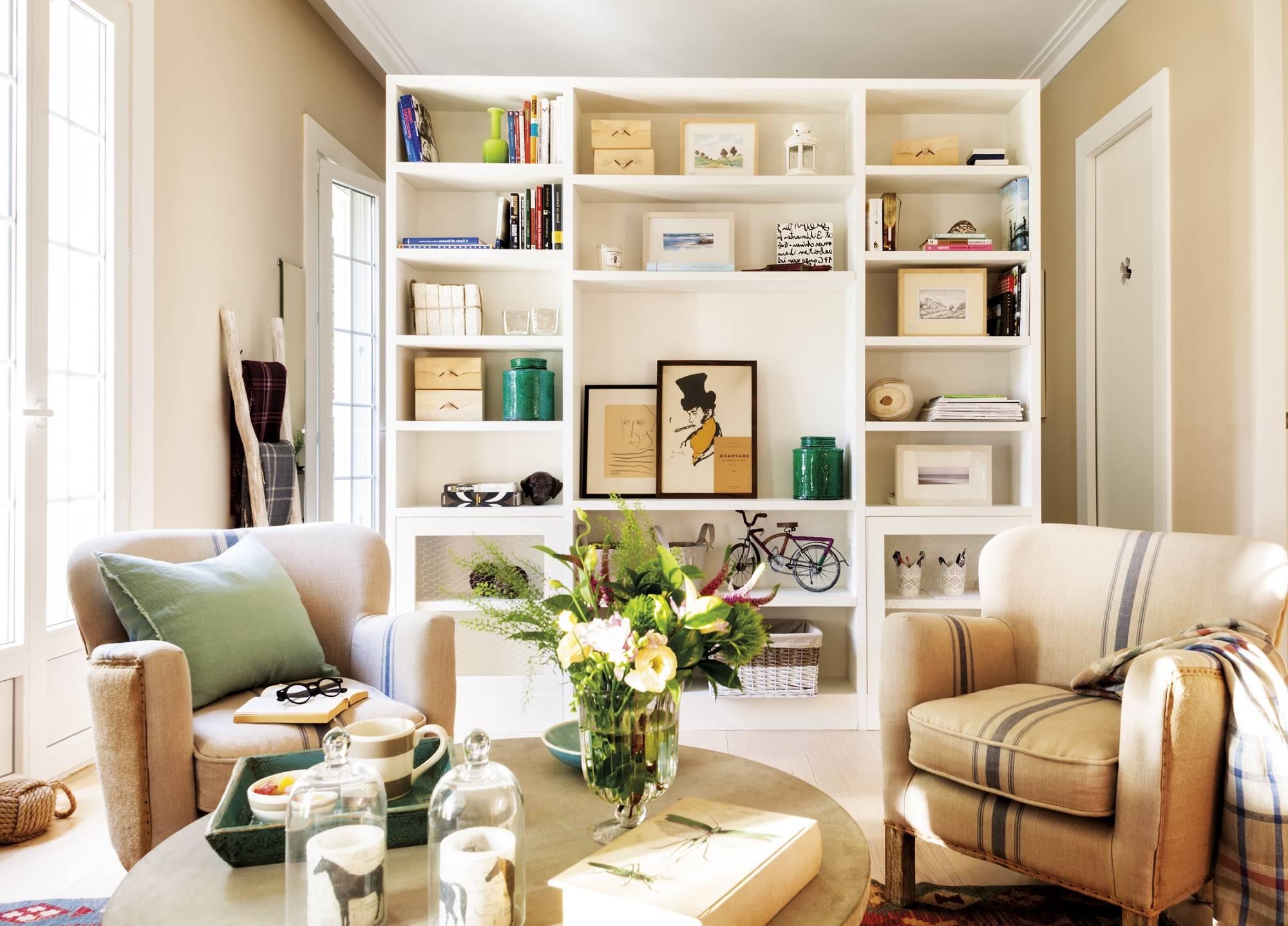 Mueble Libreria Salon Zwd9 Librerà as Prà Cticas Para El Salà N