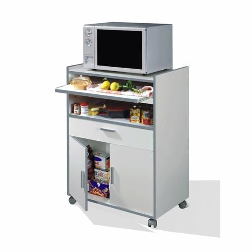 Mueble Microondas Carrefour Tldn Mueble Para Microondas Kawai Color Blanco Las Mejores Ofertas