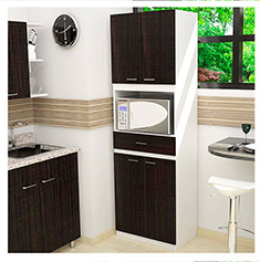 Mueble Microondas E6d5 Mueble Para Microondas Bau Wengue the Home Depot MÃ Xico