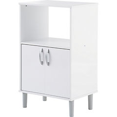 Mueble Microondas Etdg Mueble Para Microondas 95x58x41 5 Cm Blanco sodimac