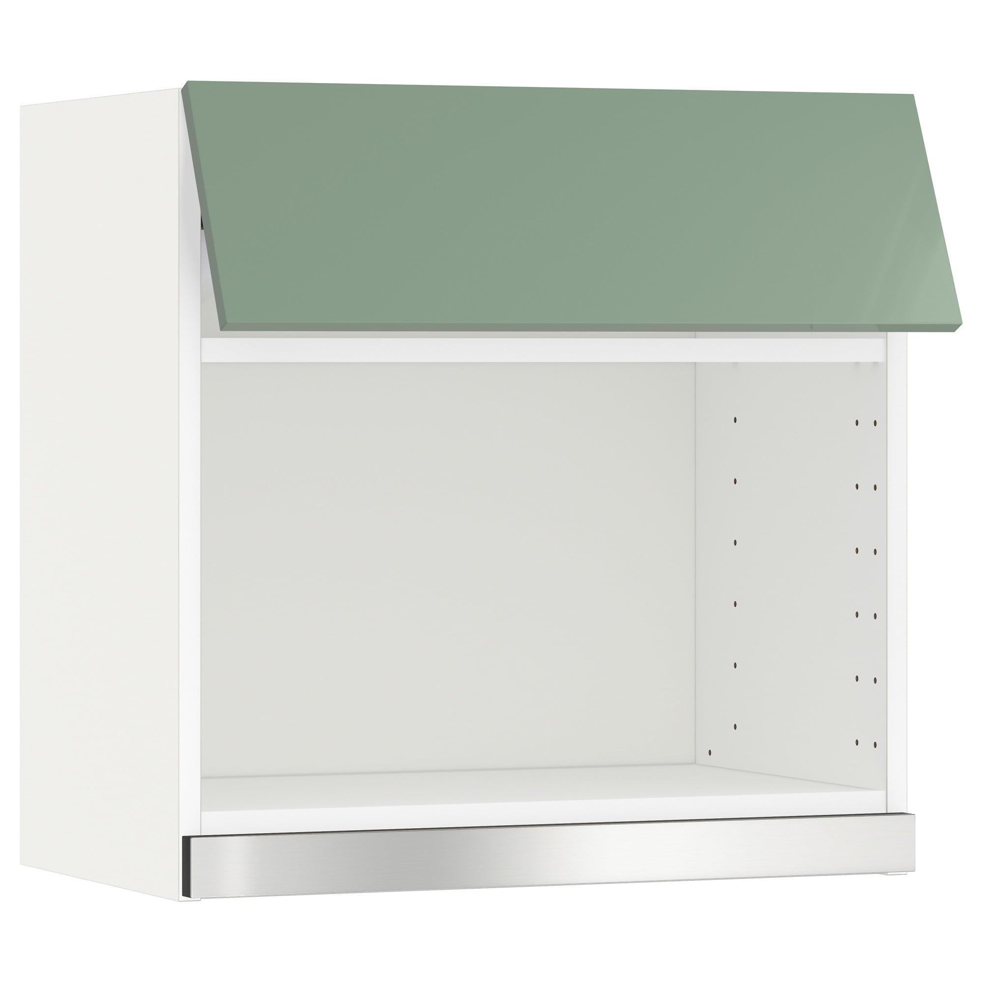 Mueble Microondas Kvdd Metod Armario De Pared Para Microondas Blanco Kallarp Verde Claro 60