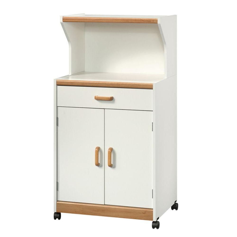 Mueble Microondas Q5df Mueble Para Microondas Sauder 2 Puertas Blanco Elektra Online