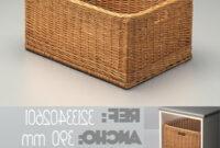 Mueble Mimbre Baño 9ddf Cestos De Mimbre Multiuso Para El BaO Y La Cocina Reformas Guaita