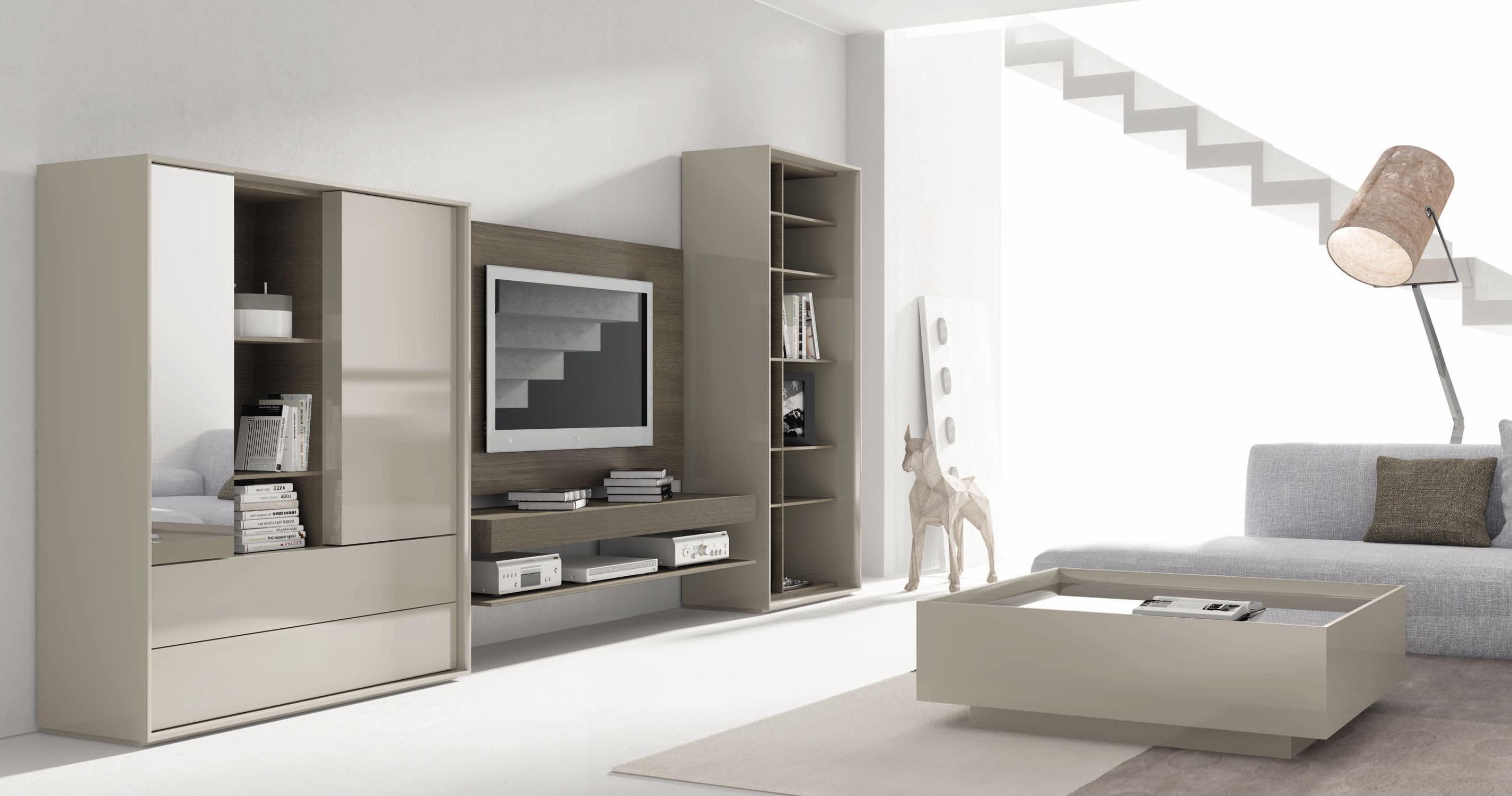 Mueble Multimedia Bqdd Mueble Multimedia Moderno De Madera Lacada De Vidrio Next