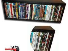 Mueble Para Dvd Zwd9 Mueble Estanteria Para Dvd Blu Ray Y Juegos Nueva Ebay