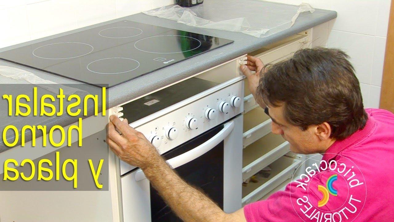 Mueble Para Encastrar Horno Y Encimera 87dx Instalar Una Placa De Cocina Y Un Horno Bricocrack Youtube