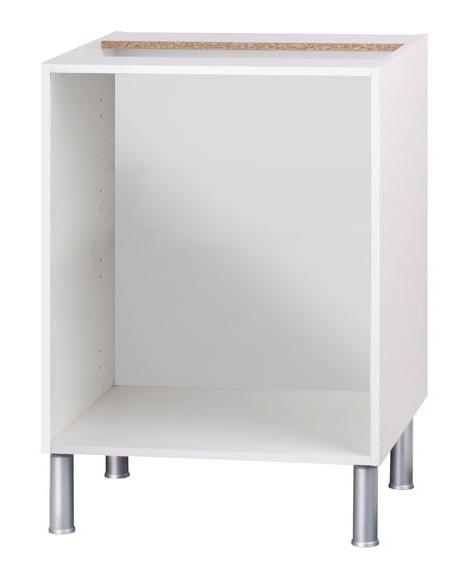 Mueble Para Encastrar Horno Y Encimera X8d1 Bajo Horno 70 16 X 60 Blanco Basic Cocina Blanco Ref